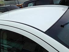 Преимущества работ по покраске крыши автомобиля