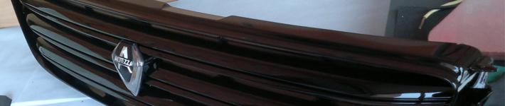 Преимущества покраски решетки радиатора