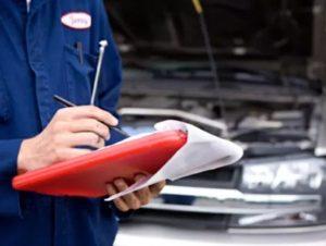 Оценка ремонта машины
